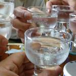 18日本酒乾杯